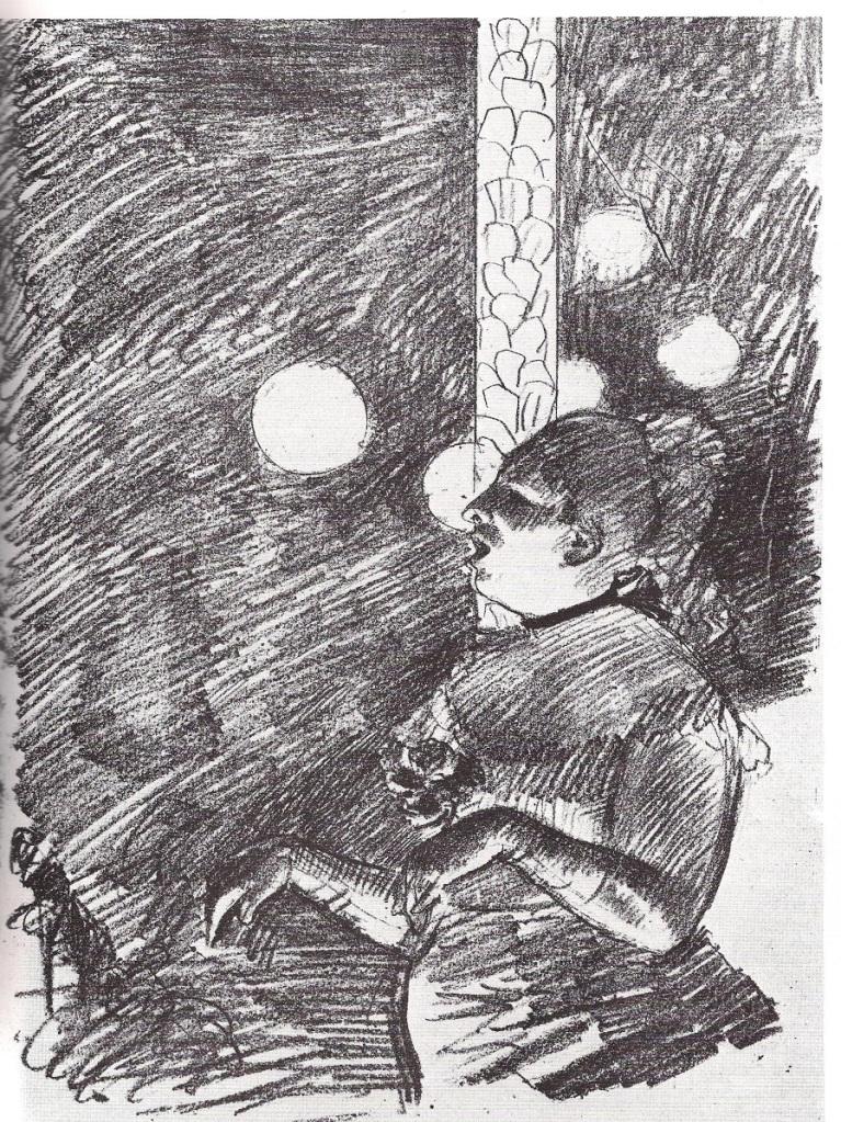 Edgar Degas, La Chanson du Chien