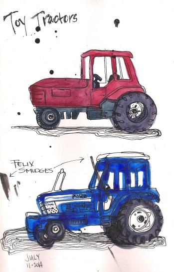 tractors)